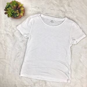 J. Crew Women's Vintage Cotton T shirt White
